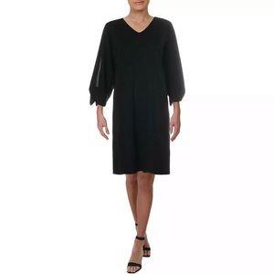 Lauren Ralph Lauren Self-Tie Jersey Dress Black